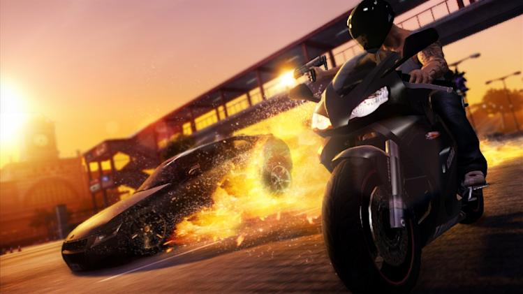 Cars and bikes ahoy in open world crime game 'Sleeping Dogs'