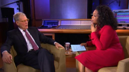 David Letterman opens up to Oprah