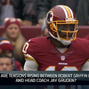 Brian Billick: Washington Redskins quarterback Robert Griffin III and head coach Jay Gruden situation has 'disaster written all over it'