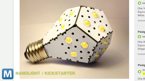 Kickstarted: A Super-Efficient, Super-Cool Lightbulb