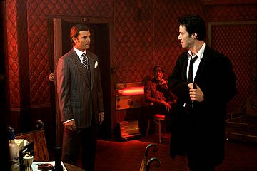 Gavin Rossdale and Keanu Reeves in Warner Bros. Constantine