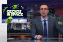 John Oliver, Buzz Aldrin, and Patrick Stewart plead for rescue of lost Russian space-geckos