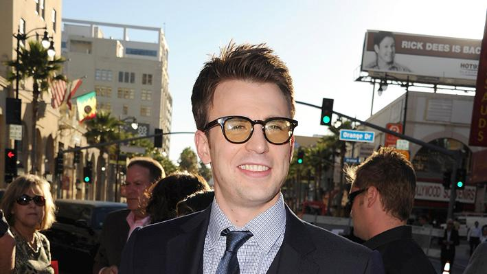 Captain America LA Premiere 2011 Chris Evans