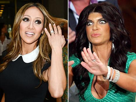 "Melissa Gorga Blames Teresa Giudice for ""Just Sitting There"" During Cheating Accusations"