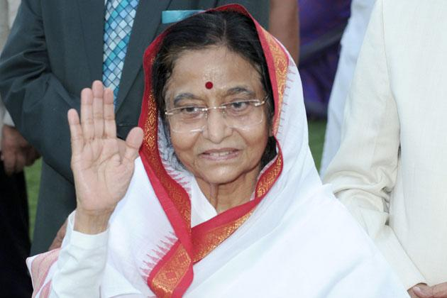 Pratibha Patil, the outgoing President