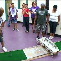 Students Learn Math, Science By Creating A Mini Golf Course