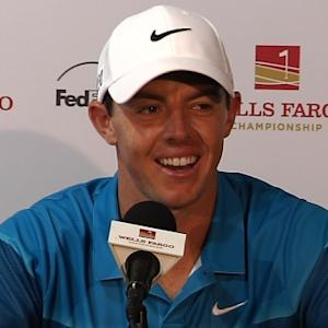 Rory McIlory news conference after winning the Wells Fargo Championship