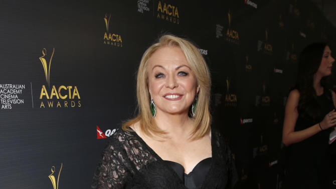 Jacki Weaver attends the Australian Academy Of Cinema And Television Arts' 2nd AACTA International Awards at Soho House on January 26, 2013 in West Hollywood, California. (Photo by Todd Williamson/Invision/AP Images)