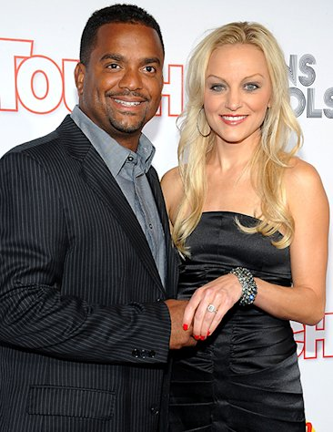 Fresh Prince of Bel Air&#39;s Alfonso Ribiero Weds Angela Unkrich