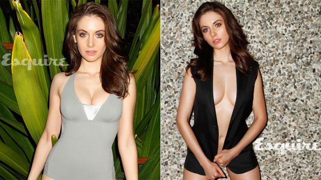 'Community' Star Alison Brie Strips Down