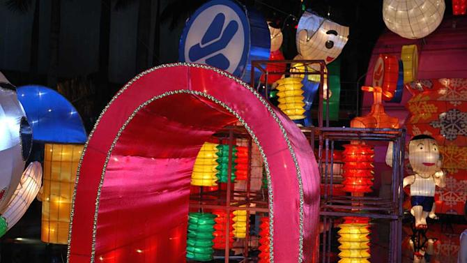 Travel Chinese New Year Hong Kong Lanterns