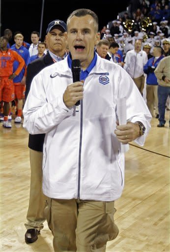 Georgetown-Florida called at halftime, wet court
