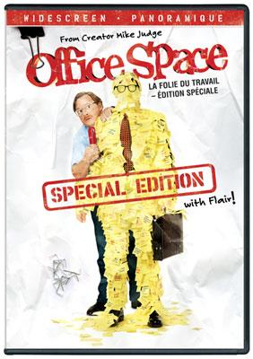 The box art from the Special Edition DVD of 20th Century Fox's Office Space