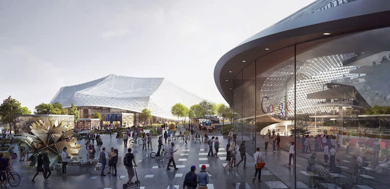 Google submits plans to expand Silicon Valley headquarters