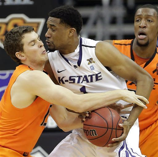 No. 11 Kansas State beats No. 14 Oklahoma St 68-57