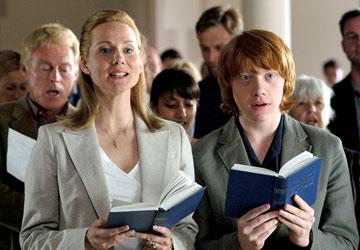 Laura Linney and Rupert Grint in Sony Pictures Classics' Driving Lessons