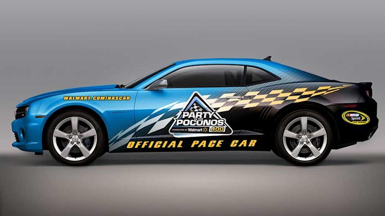 Pick a pace-car design for Pocono