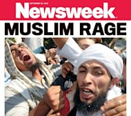 "Newsweek's front page about the deadly protests currently sweeping the Muslim world has sparked a storm of controversy and derision on Twitter as netizens mock the magazine's headline ""Muslim Rage."""