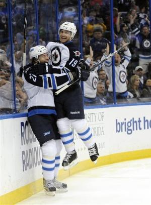 Little scores tiebreaking goal in Jets win