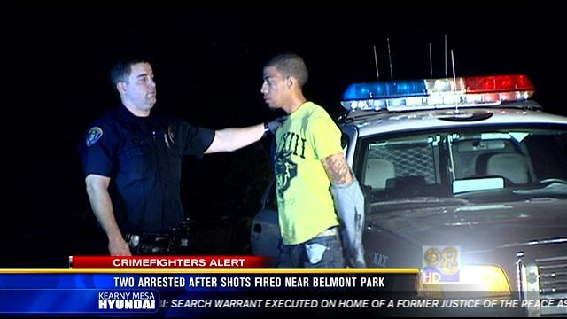 2 arrested after shots fired near Belmont Park