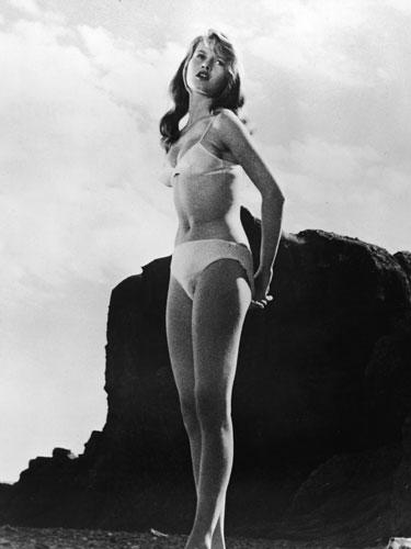Brigitte Bardow in The Girl in the Bikini - 1952