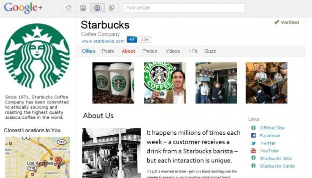 Google+ brand pages start appearing in Google search results
