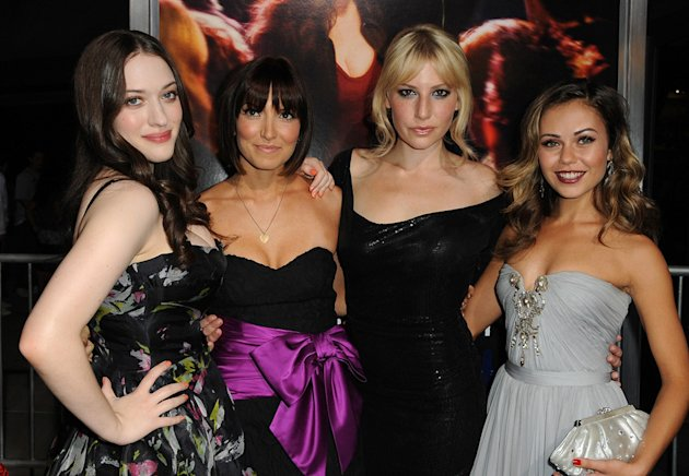 Nick and Norah's Infinite Playlist Premiere LA 2008 Kat Dennings Lorene Scafaria Ari Graynor Alexis Dziena