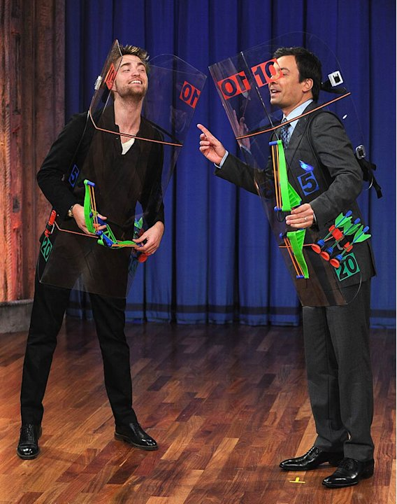 Robert Pattinson Late Night With Jimmy Fallon