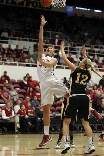 No. 1 Stanford women rout Long Beach State 77-41