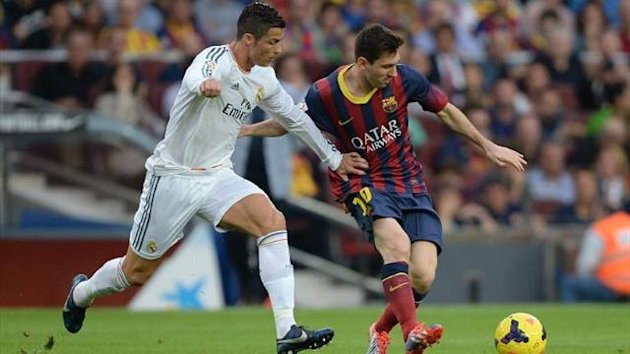 Cristiano Ronaldo and Lionel Messi (Imago)