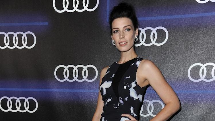 Jessica Pare arrives at the 5th Annual Audi Emmy Celebration on Thursday, Aug. 21, 2014, in West Hollywood, Calif. (Photo by Richard Shotwell/Invision/AP)