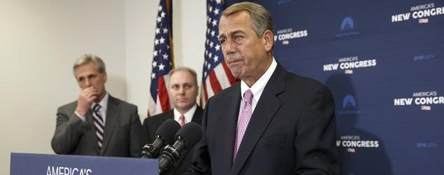 Boehner: 'There have been a couple of stumbles'