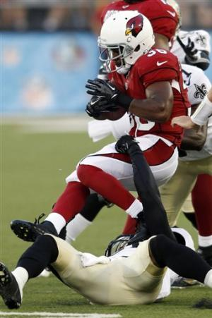 Brees sharp, Saints beat Cardinals 17-10