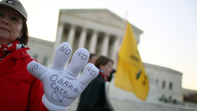 New Low in Support for Health Law; Half Expect Justices to Go Political (ABC News)