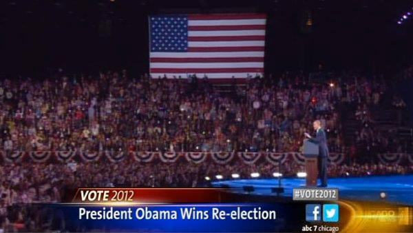 Obama, Romney address voters after Obama wins