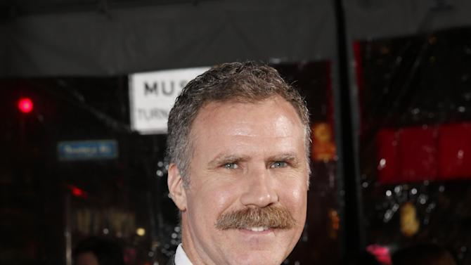 """Producer Will Ferrell attends the premiere of """"Hansel & Gretel Witch Hunters"""" on Thursday Jan. 24, 2013, in Los Angeles.  (Photo by Todd Williamson/Invision/AP)"""