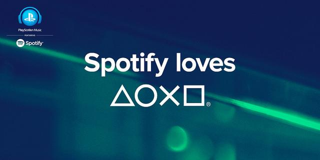 Spotify is coming to your PS4