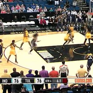Catchings' Game-winner Shocks Tulsa