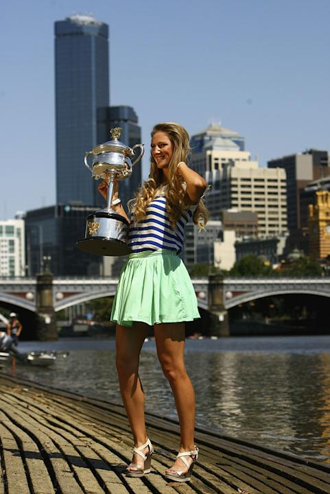 Victoria Azarenka Of Belarus Poses Getty Images