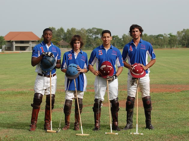 Members of the Work To Ride polo team — WorktoRide.net