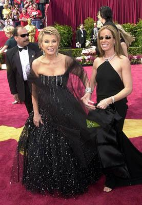 Joan Rivers and Melissa Rivers 74th Academy Awards Hollywood, CA 3/24/2002