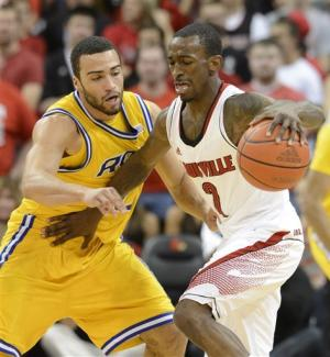 No. 5 Louisville beats Missouri-Kansas City, 99-47