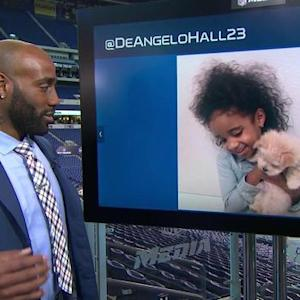 Washington Redskins cornerback DeAngelo Hall joins the Social Media Command Center