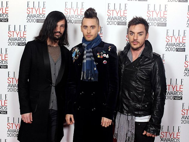 Seconds To Mars ELLE Style Awards