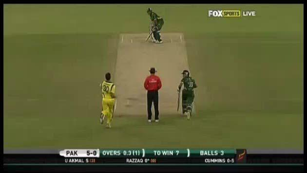 Night cricket hits off