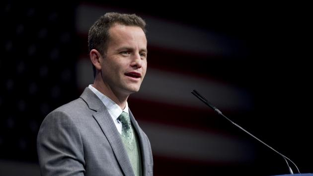 Kirk Cameron speaks at the 2012 Conservative Political Action Conference in Washington, D.C., February 9, 2012 -- Getty Images