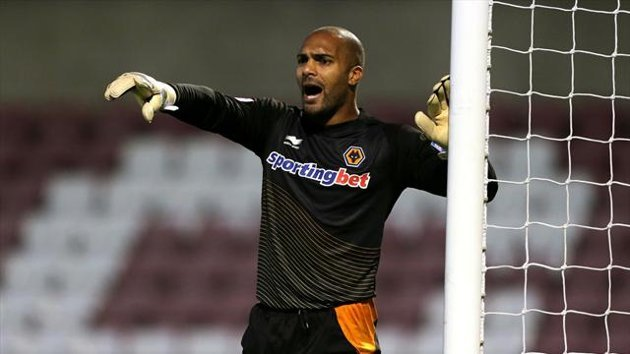 Carl Ikeme injured his hand punching a tactics board at the weekend