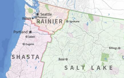 Alternate Geographies: Altered State(s) - Redrawing Seattle & Washington State