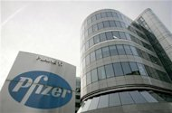 <p>A view of the Belgian headquarters of U.S. pharmaceutical giant Pfizer, in Brussels January 23, 2007. REUTERS/Francois Lenoir</p>