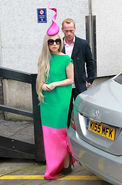 Lady Gaga The London Television Studios